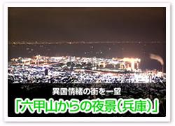六甲山からの夜景(兵庫県)