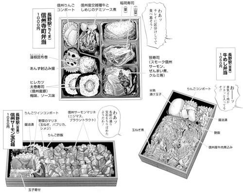 信州サーモン宝石箱