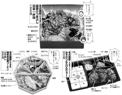 名古屋駅「抹茶ひつまぶし日本一弁当」