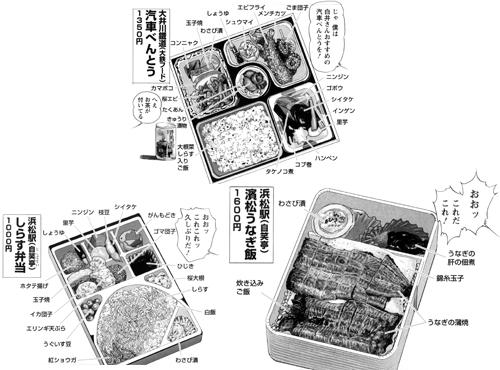 大井川鐵道 新金谷駅「汽車べんとう」