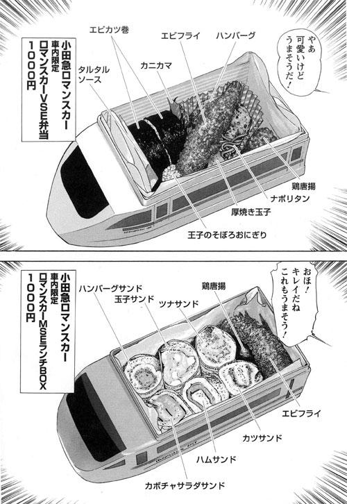 小田急ロマンスカー社内限定(ロマンスカーVSE弁当/ロマンスカーMSEランチBOX)