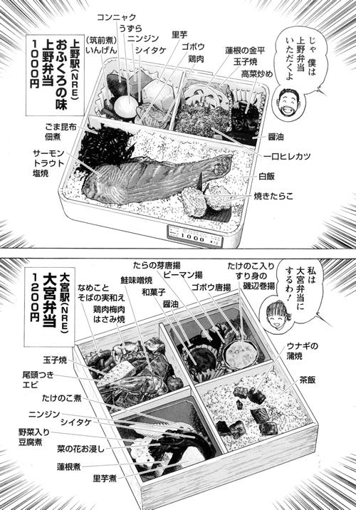 大宮駅「大宮弁当」1200円 NRE