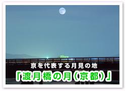 「渡月橋の月(京都)」