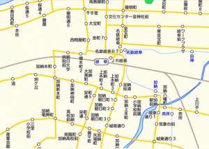 岐阜バス - 路線図